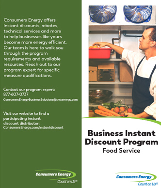 Business Instant Discount Food Service